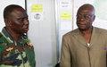 « Bambari sera débarrassée des groupes armés par tous les moyens », dit le Commandant de la Force de la MINUSCA en visite dans la ville