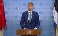Gert Auväärt (Présidentdu Conseil de sécurité, Estonie)sur la République centrafricaine–Déclaration à la presse duConseil de sécurité
