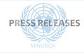 MINUSCA welcomes the arrival in Bangui of electoral equipment