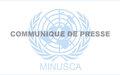 La MINUSCA appelle les centrafricains a privilégier l'intérêt supérieur de la nation