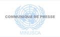 La MINUSCA appelle à une mobilisation accrue autour de la RCA