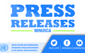 MINUSCA has been informed of an allegation of sexual abuse, by a member of the military battalion from the Democratic Republic of the Congo