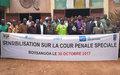 La sensibilisation sur la Cour Pénale Spéciale  mobilise les populations de Bossangoa