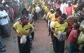 Campagne de sensibilisation sur la culture de la paix en RCA, une forte mobilisation en province