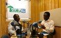 """Parfait Onanga-Anyanga : """"Nous sommes dans un processus qui avance difficilement, mais qui avance"""""""