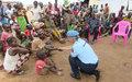 Une délégation de FSI et UNPOL en visite de terrain à Kaga-Bandoro