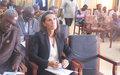 Les députés centrafricains poursuivent leur familiarisation aux enjeux de la  Réforme du Secteur de la sécurité