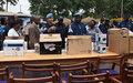 Renforcement des capacités opérationnelles de la police et de la gendarmerie