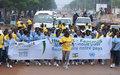 Journée internationale de la femme : Un « Cross » pour la reconstruction