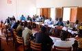 Bossangoa : Des signaux positifs au sortir de la 5ème réunion du Comité de mise en œuvre préfectoral
