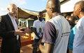 Le Représentant spécial adjoint plaide, à Bouar, pour la paix à travers le dialogue