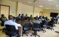 Renforcement des capacités des acteurs des juridictions militaires de Bouar