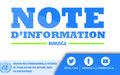 LA MINUSCA REMET DU MATERIEL DE PROTECTION CONTRE LA COVID-19 AUX MEDIAS CENTRAFRICAINS