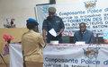 La MINUSCA forme les formateurs de la Police et de la Gendarmerie centrafricaines