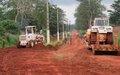 Démarrage des travaux de réhabilitation des voies urbaines de Berberati