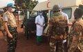 25 éléments des Forces de défense et de sécurité intérieure libérés par les casques bleus dans le Sud-est