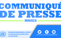 LA MINUSCA  dénonce les affrontements entre groupes armés à Ndélé et au sud de Bria