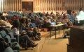 Les femmes leaders de Centrafrique veulent être des actrices efficaces de la consolidation de la paix