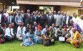 La presse centrafricaine s'engage à couvrir les procédures judiciaires avec responsabilité