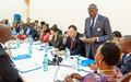 La MINUSCA déterminée à protéger les enfants victimes d'abus sexuels, déclare Babacar Gaye