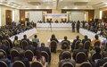 Le GIS-RCA discute des mesures concrètes pour faire avancer l'Accord de paix