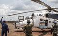 La gratitude de la MINUSCA à l'Unité sénégalaise d'hélicoptères d'attaques