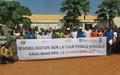 Les habitants de Kaga Bandoro s'imprègnent du fonctionnement de la Cour pénale spéciale
