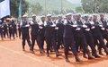 453 policiers du contingent rwandais distingués par la MINUSCA