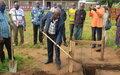 Ndélé : un bâtiment pour désengorger les classes et respecter la distanciation sociale a l'école de Ndola