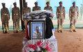 Ultime hommage à  l'Adjudant Abdulnaser Mostafa Ragab Abdelhamid