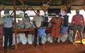 COVID-19 : La MINUSCA soulage les populations de Bangassou avec des kits hygiéniques
