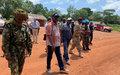 En application de l'APPR, le FPRC démantèle la barrière de Ngoubi 1 dans la Haute Kotto
