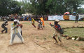Bambari : la paix à travers le théâtre