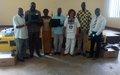 Les deux radios communautaires de Bossangoa equipées en materiel technique