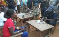 Des postes de police mobiles pour protéger les déplacés internes à Bambari