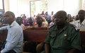 Le système judiciaire à nouveau fonctionnel à Bambari