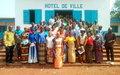 Un projet sur la gestion de rumeurs dans la préfecture de Mbomou :