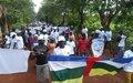 Les jeunes s'engagent pour la paix et la libre circulation à Bambari