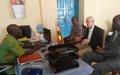 Le Représentant spécial adjoint plaide à Bambari pour la relance du dialogue communautaire après la stabilisation de la situation sécuritaire