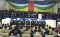 Le Gouvernement et les groupes rebelles ont signé l'accord de paix et de réconciliation à Bangui