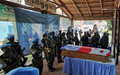 Deux Casques bleus élevés à titre posthume au rang de Chevaliers de l'ordre de la reconnaissance centrafricaine