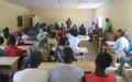 Des activités génératrices de revenus pour promouvoir la paix entre les populations de Kouki et de Nana-Bakassa