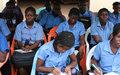 Les élèves du lycée Barthélémy Boganda de Bangui sensibilisés à l'élimination de la Discrimination raciale