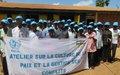 Les chefs de quartiers et groupes de Bossangoa s'engagent à adopter et inculquer la culture de la paix