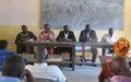 L'Accord de paix et le mandat de la MINUSCA au centre de 4 jours d'échanges à Ndele