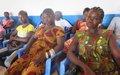 Les leaders communautaires de Bossangoa outillés sur le code de conduite du personnel des Nations unies