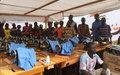 84 ex-combattants et membres de la communauté prêts à être réinsérés à Bria