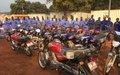 Bria : des motos-taxis pour les bénéficiaires du Projet de réduction de la violence communautaire