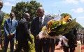 Garder le souvenir des martyrs de la crise centrafricaine