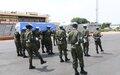 Les hommages de la MINUSCA au casque bleu rwandais tombé à Gedze